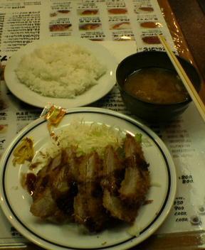 Tonkatsu in Akihabara