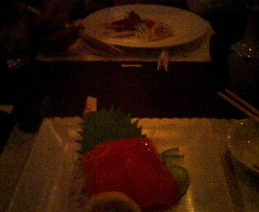 dinner w/ karl