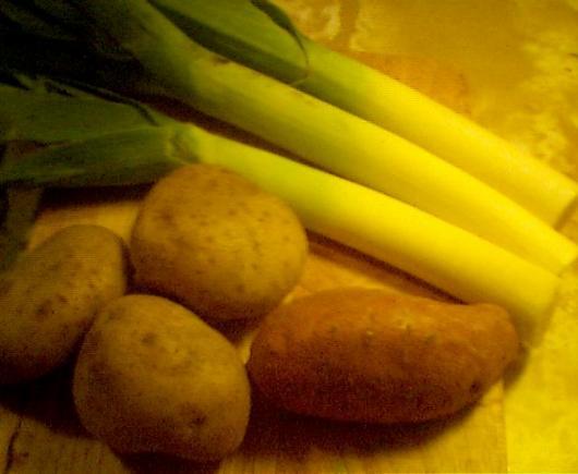 Leek & potatoes