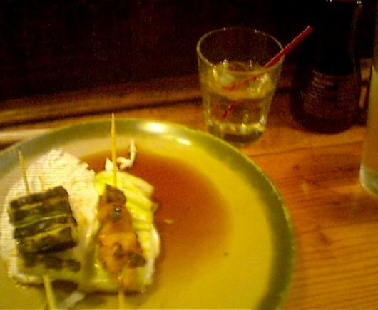 Yakitori and Shochu