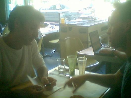 Aaron and Karl