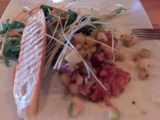 the tuna tartar in question