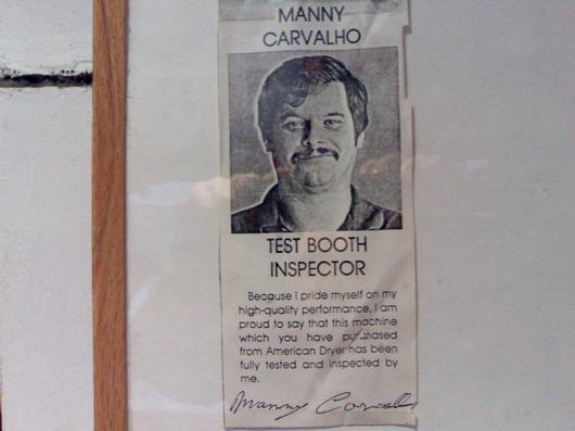 Drier inspector