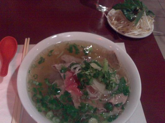 one pho the road