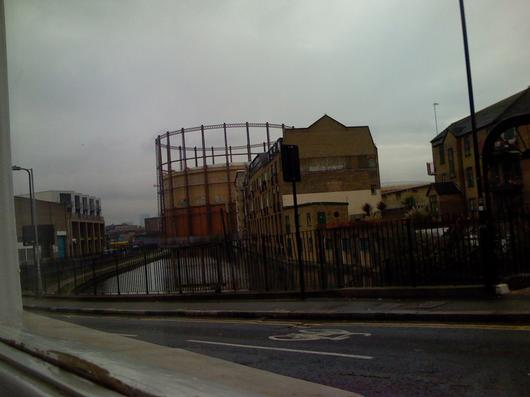 Hackney, by the canal