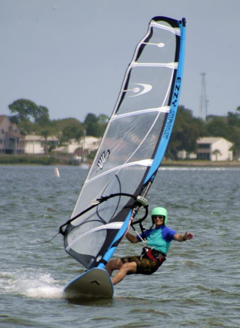 Mom Windsurfing