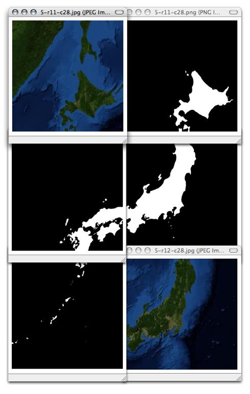 Tiles of japan