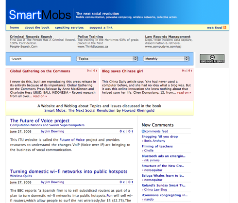 Smartmobs new